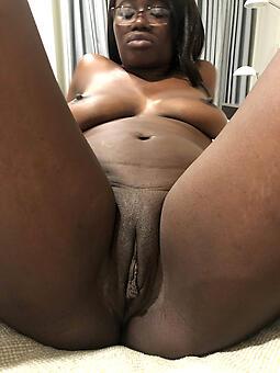 Black Milf Shaved Pussy